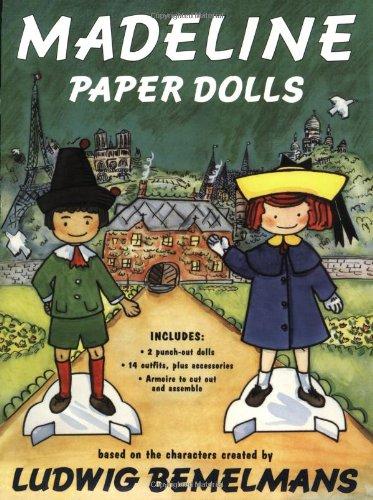 Madeline Paper Dolls