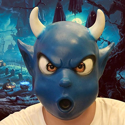 Halloween Adult Animal Mask Full Face Scary Funny Cosplay Fancy Ball Party Haloween Party Payday Horror Latex Realistic Masks by My Aashis