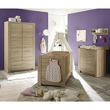 Carlotta chambre bébé complete 3 pieces: Amazon.de: Baby