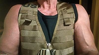 New US Army Military Marine Tactical MOLLE II 2 USMC Marpat Coyote Brown FIGHTING LOAD CARRIER Vest FLC by US Government GI