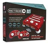 Hyperkin RetroN 3 System NES/SNES/GENESIS 2.4 GHz Edition Vector Red