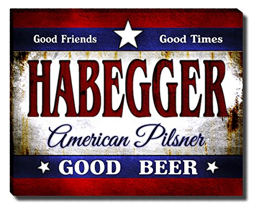 ZuWEE Habegger's American Pilsner Gallery Wrapped Canvas for sale  Delivered anywhere in USA