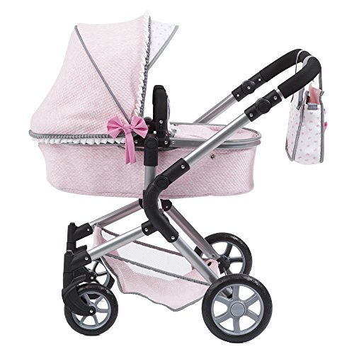 Amazon.com: CLAUDIO REIG Pram Bebe-Paseo Urban Neo Pink, Colour (rer18501): Toys & Games