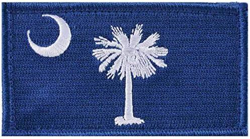 [해외]South Carolina State Flag Patch / South Carolina State Flag Patch