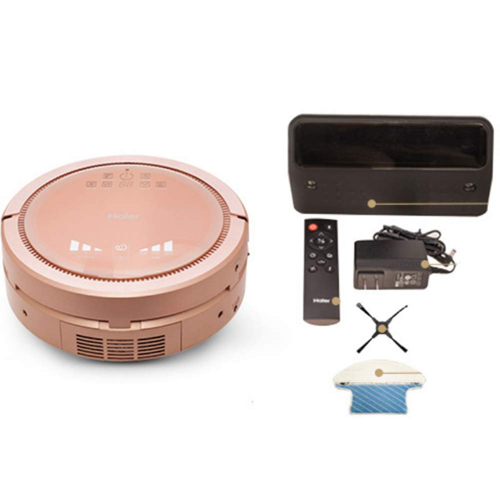 XLUOYI Smart Air Purifier Wireless Charging Sweeping Robot Home,Pink-33cm*13cm Home & Kitchen Vacuums & Floor Care