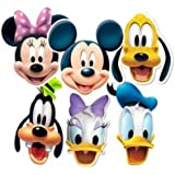 Mickey Mouse & Friends Party Masks (Pack of 6)