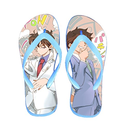Bromeo Detective Conan Anime Unisex Flip Flops Chanclas 660