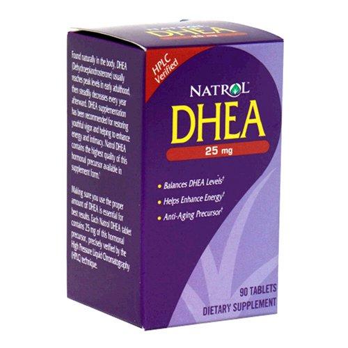 Natrol DHEA 25mg Tablets Pack