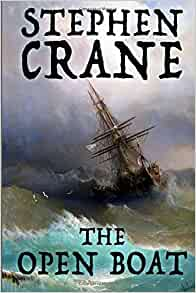 an analysis of the book the open boat by stephen crane The short story the open boat by stephen crane tells the tale of four men trying to survive the unforgiving ocean in a lifeboat after a books by stephen crane.