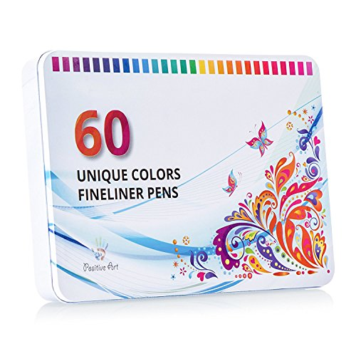 Positive Art Fineliner Coloring Colorful product image