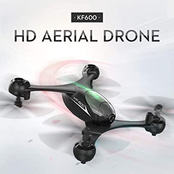 LtrottedJ KF600 2.4G Drone Altitude Hold 720P WiFi Camera FPV Optical Flow RC Quadcopter