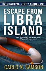 Escape from Libra Island (Interactive Story Series) (Volume 2)
