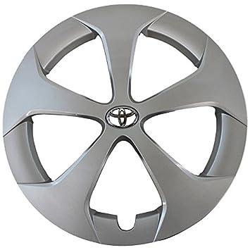 OEM genuino Toyota Rueda Cover - profesionalmente refinished como nuevo - 15 en repuesto Tapacubos para 2012 - 2015 Prius: Amazon.es: Coche y moto
