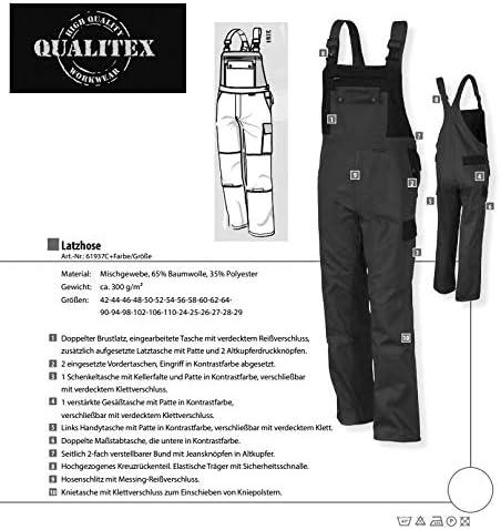 Qualitex Arbeits-Latzhose BW 270