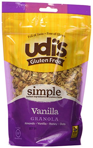 Udi's Gluten Free Granola, Vanilla, 12-Ounce Pouches (Pack of 3)
