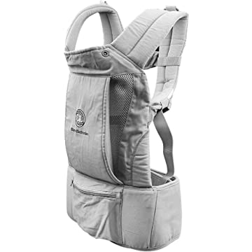 Baby Carrier - Big Baby Carrier Backpack Hip Seat, Natural Form Baby Carrier Backpack for All Seasons Natural,All-in-One Baby Carrier, Ventilated Carrying Sling Wrap Baby Backpack Carrier