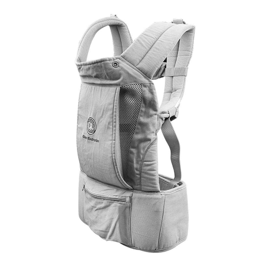 Baby Carrier – Big Baby Carrier Backpack Hip Seat, Natural Form Baby Carrier Backpack for All Seasons Natural,All-in-One Baby Carrier, Ventilated Carrying Sling Wrap Baby Backpack Carrier