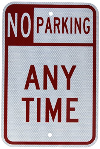Parking Anytime Laminated Sign Weatherproof