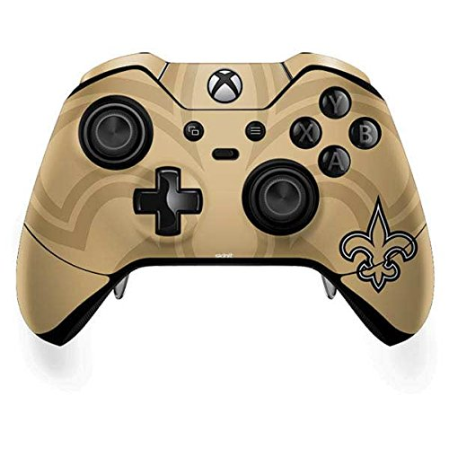 Orleans New Controller Saints (Skinit NFL New Orleans Saints Xbox One Elite Controller Skin - New Orleans Saints Double Vision Design - Ultra Thin, Lightweight Vinyl Decal Protection)
