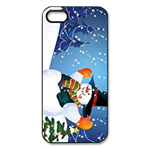 """Unique Design """"Snowman Olaf MERRY CHRISTMAS GIFT """" Hard Printed Case Protector for iphone 5/5s Case (6)"""