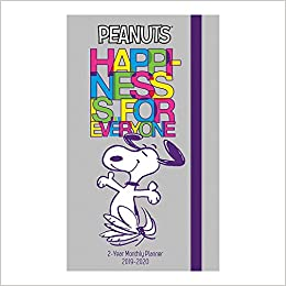 Peanuts Pocket Planner 2 Year (2019): Day Dream ...