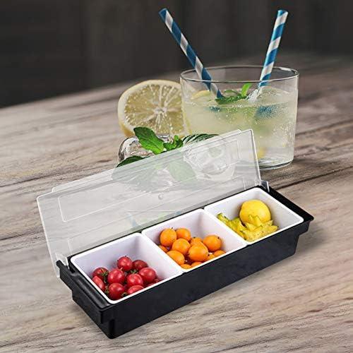 tina de bebidas organizadores de cubiertos NIRMAN Cesta r/ústica galvanizada para servir cesta de almacenamiento con soporte de doble asa. organizador de condimentos