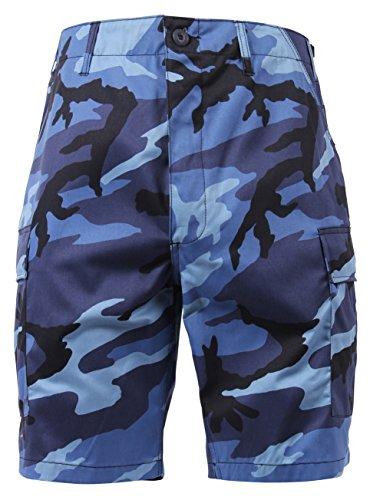 Rothco BDU Short P/C - Sky Blue Camo, X-Large