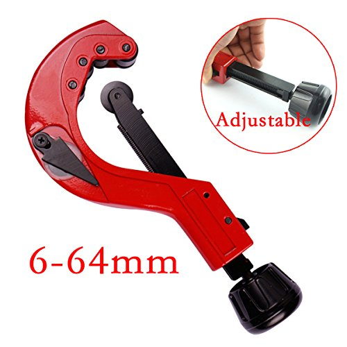 (Heavy Duty Quick Release Tube Pipe Cutter Slicer Precision Forging 6-64mm)