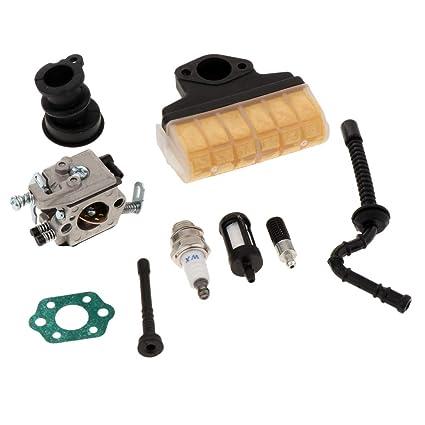 Carburador Aire Aceite Filtro De Combustible Colector De Admisión ...