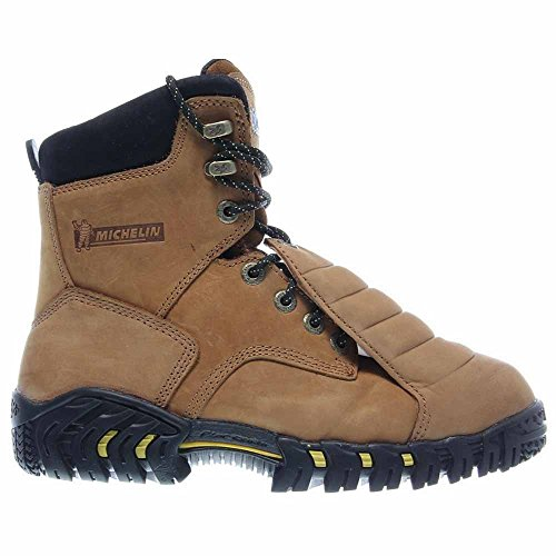 Guard Michelin Sledge Boots Brown Metatarsal Steel Men's Toe qRwTHq