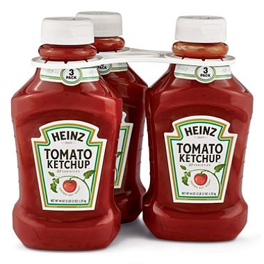 Heinz Tomato Ketchup (44 oz. bottle, 3 ()