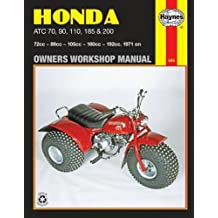 Honda ATC 70, 90, 110, 185 and 200 Owners Workshop Manual, No. M565: '71-'82