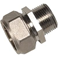 Maxline M8005 Straight Fitting for 3/4-Inch Tubing with 1/2-Inch Male NPT Thread by RAPIDAIR MAXLINE