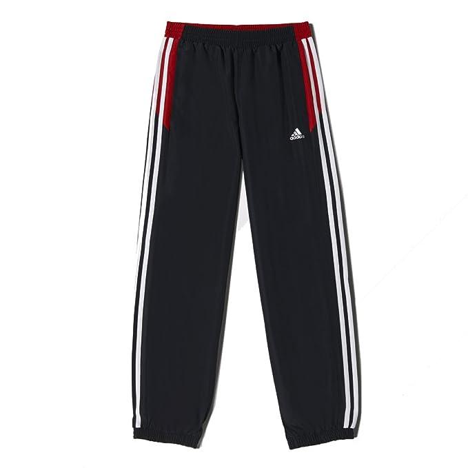 adidas - Pantalón de chándal para niño, Noir/Rouge/Blanc, 9/10 ...