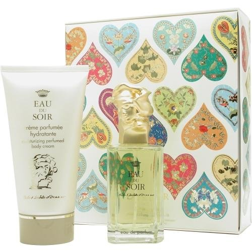 Price comparison product image Eau Du Soir By Sisley For Women. Set-eau De Parfum Spray 3.3 oz & Body Cream 5.1 oz