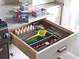 Design Ideas 5421039-DI Edison Drawer Store-3x12-Sil