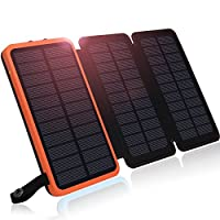 Solar Charger, Hiluckey Solar Power Bank