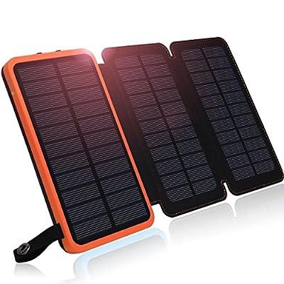 Solar Charger, Hiluckey Solar Power Bank