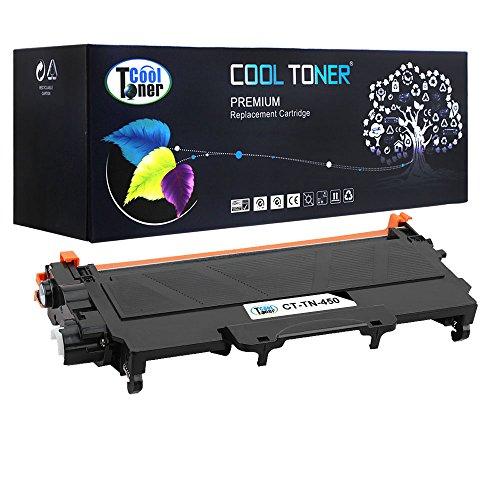 Cool Toner 1 Pack Compatible TN450 TN 450 TN-450 TN 420 TN420 TN-420 Black Toner Cartridge For Brother HL-2280DW HL-2270DW HL-2240 MFC-7240 MFC-7860DW MFC-7460DN DCP-7065DN HL-2240D Printer