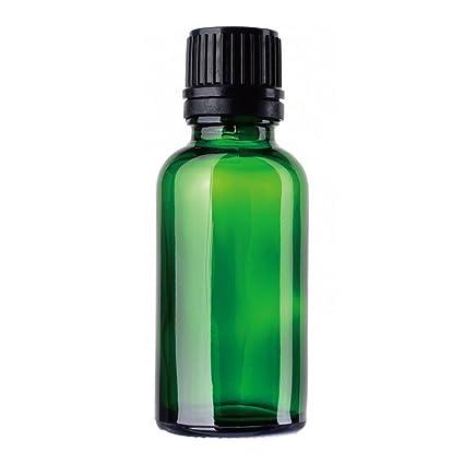 funie - Botellas Vacías de Cristal para Aceite Esencial con cuentagotas de Ojos de Cristal DE