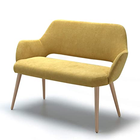 Marca Amazon - Alkove Andre - Sofá de diseño (amarillo ...