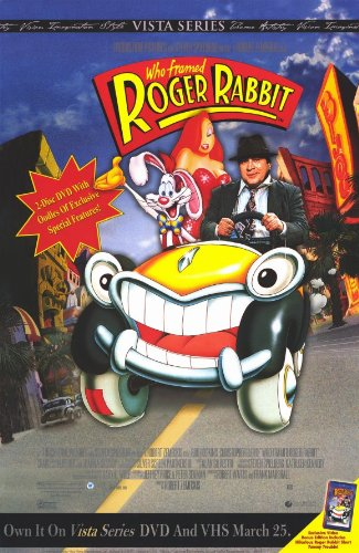 Amazon.com: Who Framed Roger Rabbit - Movie Poster - 11 x 17: Prints ...