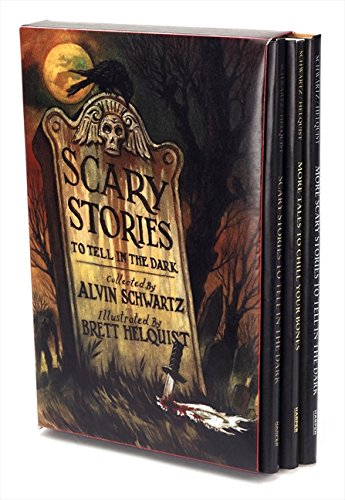 Scary Stories Box Set: Complete Collection with Brett Helquist -