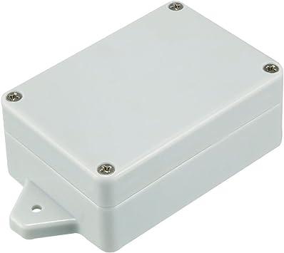 Sourcingmap - Caja de derivación electrónica de plástico, 83 x 58 x 33 mm, color gris: Amazon.es: Bricolaje y herramientas