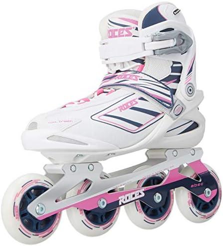 Roces Women s IZI Sporty Inline Fitness Skates, White-Blue-Pink. 400802 00002