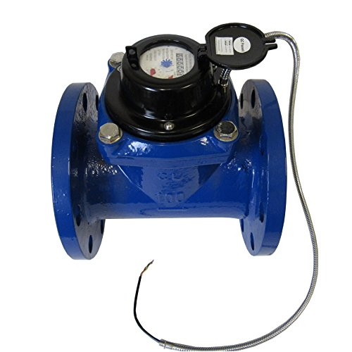 4 INCH FLANGED MULTI-JET WATER METER WITH PULSE OUTPUT by PRM