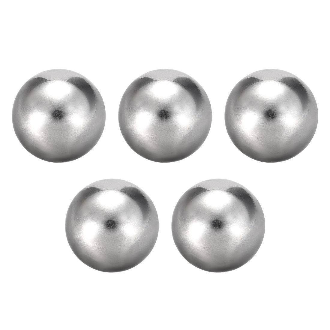sourcing map Rodamientos de precisi/ón en acero cromado bolas 13mm g10 10pcs.