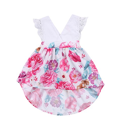 infant and big sister matching dresses - 4
