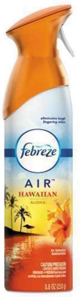Febreze Odor-Eliminating Air Freshener, Hawaiian Aloha, 8.8 fl oz