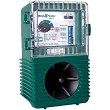 Bird-X Peller Pro Model 1 Electronic Bird One Acre Coverage. Natural Sounds Repel Pigeons, Starlings, Sparrows &Amp Gulls.